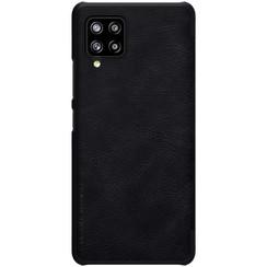 Samsung Galaxy A42 5G - Qin Leather Case - Zwart