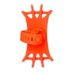 Universele Draaibare Telefoonhouder Fiets - 4 tot 6.5 inch - Oranje