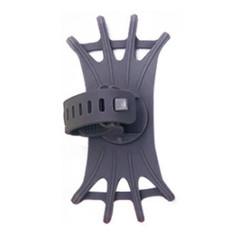Universele Draaibare Telefoonhouder Fiets - 4 tot 6.5 inch - Grijs