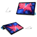 Cover2day Case for Lenovo Tab P11 - 11 Inch - Slim Tri-Fold Book Case - Lightweight Smart Cover - Light Blue