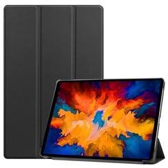 Lenovo Tab P11 Pro Hoes - 11.5 Inch - Tri-Fold Book Case - Auto Sleep/Wake Functie - Zwart