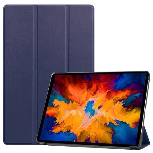 Cover2day Case for Lenovo Tab P11 Pro - 11.5 Inch - Slim Tri-Fold Book Case - Lightweight Smart Cover - Dark Blue