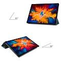 Cover2day Case for Lenovo Tab P11 Pro - 11.5 Inch - Slim Tri-Fold Book Case - Lightweight Smart Cover - Dark Green