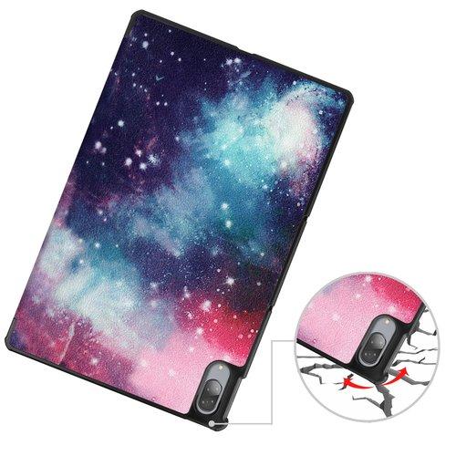 Cover2day Case for Lenovo Tab P11 Pro - 11.5 Inch - Slim Tri-Fold Book Case - Lightweight Smart Cover - Hülle für Lenovo Tab P11 Pro - 11.5 Zoll - Dreifach Falt Schutzhülle Case - Ultra Dünn Leicht Ständer - Galaxy