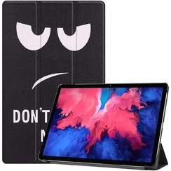 Lenovo Tab P11 Hoes - 11 Inch - Tri-Fold Book Case - Auto Sleep/Wake Functie - Don't Touch Me