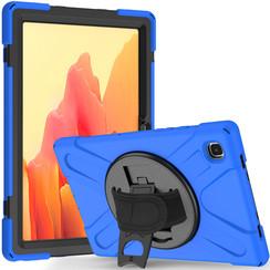 Samsung Galaxy Tab A7 (2020) Case - Shock-Proof Hand Strap Armor Case - Blue