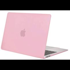 Macbook Pro 13 inch (2020) cover - Laptop Case - Plastic Hard Cover - Roze