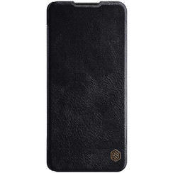 Samsung Galaxy A42 5G Hoesje - Qin Leather Case - Flip Cover - Zwart
