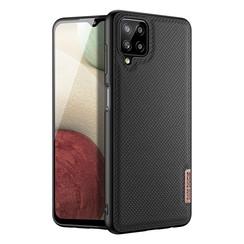 Dux Ducis - Samsung Galaxy A12 Case - Fino Series - Back Cover - Black