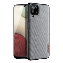 Dux Ducis - Samsung Galaxy A12 hoesje - Fino Series - Back Cover - Licht Blauw