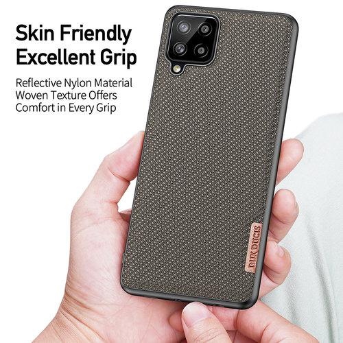 Dux Ducis Dux Ducis - Samsung Galaxy A12 hoesje - Fino Series - Back Cover - Groen