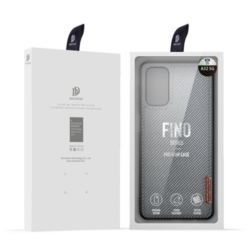 Dux Ducis Dux Ducis - Samsung Galaxy A32 5G hoesje - Fino Series - Back Cover - Licht Blauw