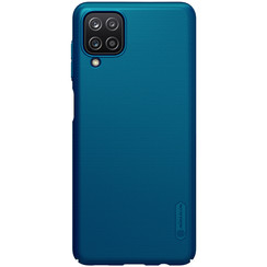 Nillkin - Samsung Galaxy A12 Case - Super Frosted Shield - Back Cover - Blue