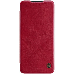 Samsung Galaxy A12 - Qin Leather Case - Flip Cover - Red
