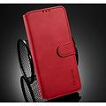 CaseMe CaseMe - Samsung Galaxy A42 Hoesje - Magnetisch 2 in 1 Case - Ming Serie - Leren Back Cover - Rood