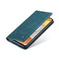 CaseMe CaseMe - Samsung Galaxy A42 5G hoesje - Wallet Book Case - Magneetsluiting - Blauw