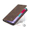 CaseMe CaseMe - Samsung Galaxy A52 5G hoesje - Wallet Book Case - Magneetsluiting - Donker Bruin