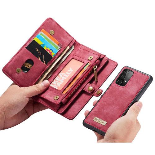 CaseMe CaseMe - Samsung Galaxy A52 5G Hoesje - 2 in 1 Back Cover - Rood
