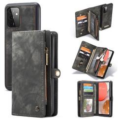 CaseMe - Samsung Galaxy A72 5G Hoesje - 2 in 1 Back Cover - Zwart