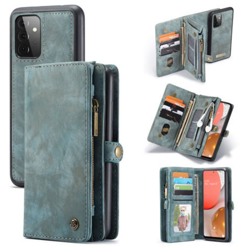 CaseMe CaseMe - Samsung Galaxy A72 5G Hoesje - 2 in 1 Back Cover - Blauw