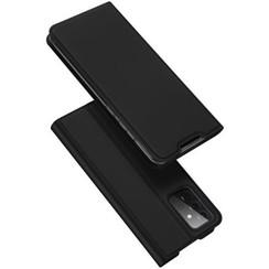 Samsung Galaxy A72 5G Hoesje - Dux Ducis Skin Pro Book Case - Zwart