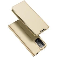Samsung Galaxy A72 5G Hoesje - Dux Ducis Skin Pro Book Case - Goud