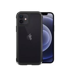 Wiwu - iPhone 12 Mini hoesje - Defense Armor Case - Aluminium Back Cover - Zwart