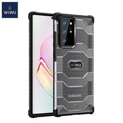 WiWu - Samsung Galaxy Note 20 Ultra Hoesje - Voyager Case - Schokbestendige Back Cover - Zwart