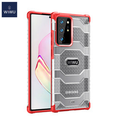WiWu - Samsung Galaxy Note 20 Ultra Case - Shockproof Back Cover - Extreme TPU Back Cover - Red