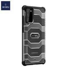 WiWu - Samsung Galaxy S20 FE Hoesje - Voyager Case - Schokbestendige Back Cover - Zwart
