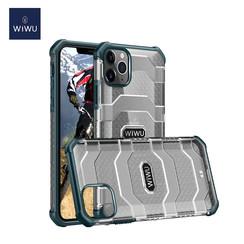 WiWu - iPhone 12 Mini Hoesje - Voyager Case - Schokbestendige Back Cover - Donker Groen