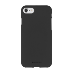 iPhone Hoesje geschikt voor iPhone 7/iPhone 8/iPhone SE 2020 Hoesje - Soft Feeling Case - Back Cover - Zwart