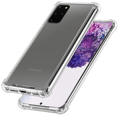 Samsung Galaxy S20 Plus Hoesje - Super Protect Back Cover - Transparant