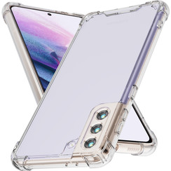 Samsung Galaxy S21 Plus Hoesje - Super Protect Back Cover - Transparant