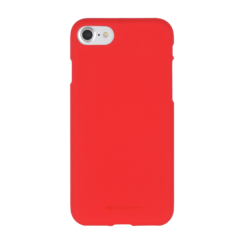 iPhone Hoesje geschikt voor iPhone 7/iPhone 8/iPhone SE 2020 Hoejse - Soft Feeling Case - Back Cover - Rood