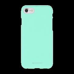iPhone Hoesje geschikt voor iPhone 7/iPhone 8/iPhone SE 2020 Hoesje - Soft Feeling Case - Back Cover - Licht Blauw