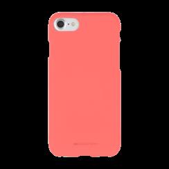 iPhone Hoesje geschikt voor iPhone 7/iPhone 8/iPhone SE 2020 Hoesje - Soft Feeling Case - Back Cover - Roze