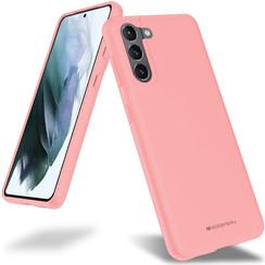 Samsung Galaxy S21 Hoesje - Soft Feeling Case - Back Cover - Roze