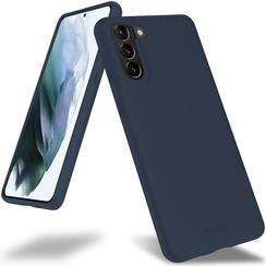 Samsung Galaxy S21 Plus Hoesje - Soft Feeling Case - Back Cover - Donker Blauw