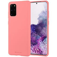 Samsung Galaxy S20 Plus Hoesje - Soft Feeling Case - Back Cover - Roze