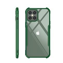 iPhone 11 Hoesje - Super Protect Slim Bumper - Back Cover - Groen/Transparant