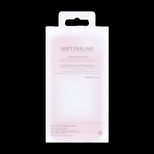 Mercury Goospery  Apple iPhone 11 Hoesje - Soft Feeling Case - Back Cover - Zwart