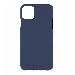 Apple iPhone 11 Pro Hoesje - Soft Feeling Case - Back Cover - Donker Blauw