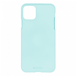 Apple iPhone 11 Pro Max Hoesje - Soft Feeling Case - Back Cover - Licht Blauw