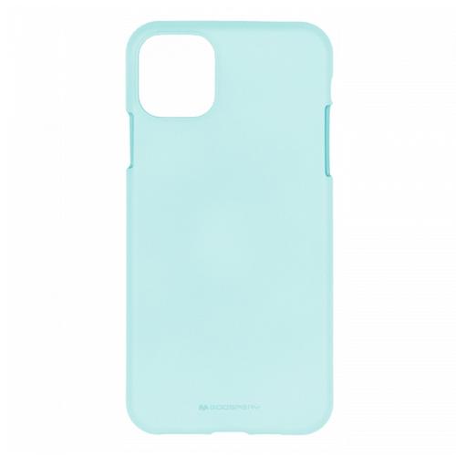 Mercury Goospery Apple iPhone 11 Pro Max Hoesje - Soft Feeling Case - Back Cover - Licht Blauw