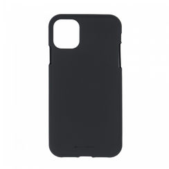 Apple iPhone 12 Mini Hoesje - Soft Feeling Case - Back Cover - Zwart