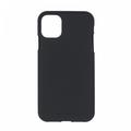 Mercury Goospery Apple iPhone 12 / iPhone 12 Pro Hoesje - Soft Feeling Case - Back Cover - Zwart