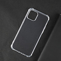Case2go Apple iPhone 12 Mini Hoesje - Clear Soft Case - Siliconen Back Cover - Shock Proof TPU - Transparant