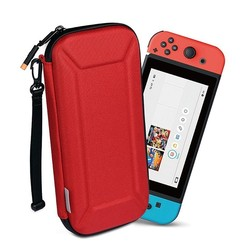 WIWU - Nintendo Switch Hoes - Nintendo Switch Games Houder - Nintendo Switch Accessoires - Rood