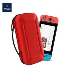 WIWU - Nintendo Switch Case - Nintendo Switch Accessoires - Nintendo Switch Beschermhoes en Standaard - Rood